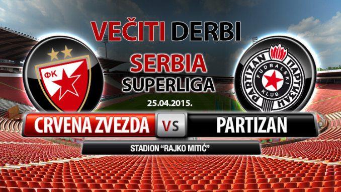 Derbi Dana Crvena Zvezda Partizan Domaćin Za Titulu