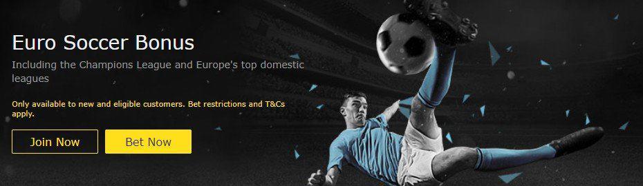 Euro Soccer bet365 bonus